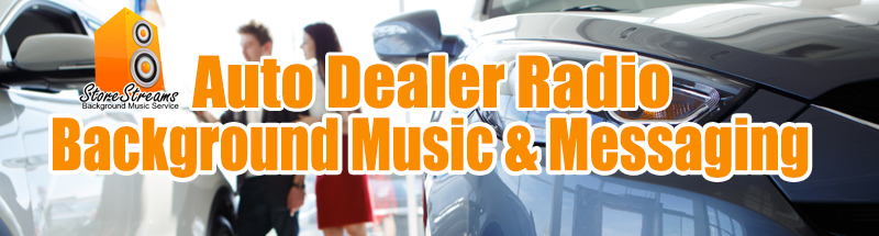 StoreStreams auto dealer banner